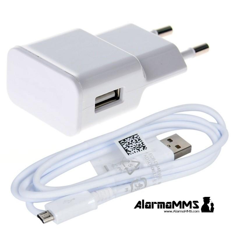 Alimentador Micro USB Blanco