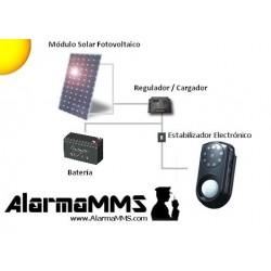 Kit solar fotovoltaico 10W7AH