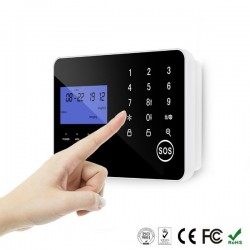 Alarma GSM / Fijo Rele Tactil GSMF-22N