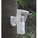 Sensor Movimiento PIR exterior Solar inalámbrico antimascota