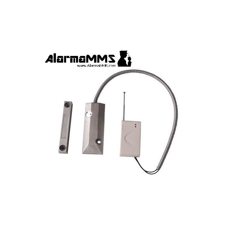Sensor magnético de apertura Persianas / Puertas inalambrico metalico