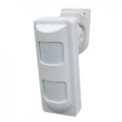 Sensor Movimiento PIR con Microonda exterior antimascota cableado