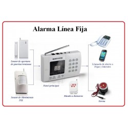 Alarma Linea Fija LF-01