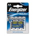Pack 4 Pilas AA Energizer llithium Ultimate