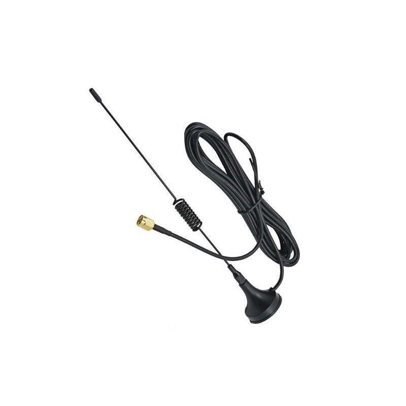 Antena externa base magnetica con cable E3a