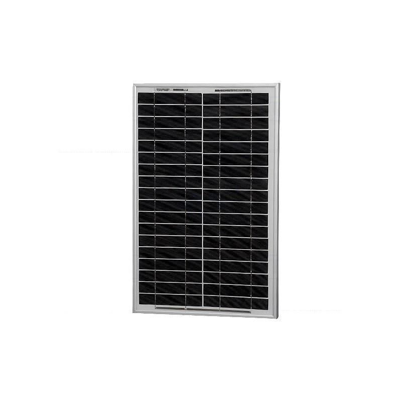 Placa solar Fotovoltaica 20W Aluminio