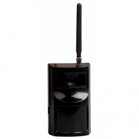 Alarma Foto Express E3a a pilas con antena color Negro