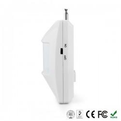 Sensor de movimiento PIR inalámbrico c/antena