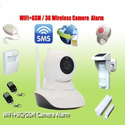Alarma GSM  Camara  IP HD 1280x720p