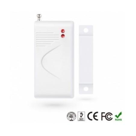 Sensor magnético de apertura Puertas / Ventanas inalambrico c/antena