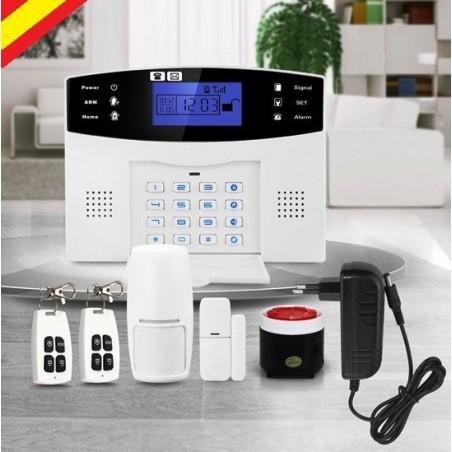 Alarma GSM-04 + Sensor vibraciones GRATIS!