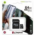 Tarjeta de memoria micro SD 64GB clase 10