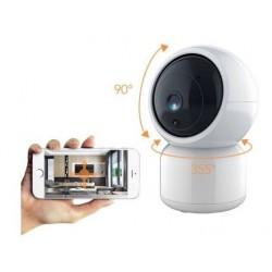 Camara Tuya Smart IP Wifi HD 1080p con rotación