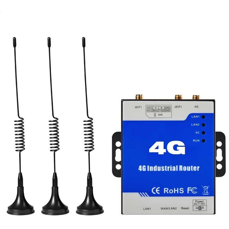 Router Industrial 4G Wifi