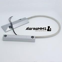 Sensor apertura puertas/persianas metalico cableado