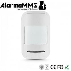Sensor PIR inalámbrico alarma TFT